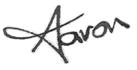 Aaron's Signature